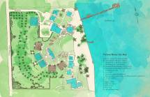 Victoria House Resort & Spa Site Map