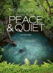 The cover of Victoria Ward's book, Peace and Quiet