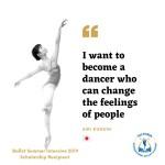 Ballet Summer Intensive Apprentice: Airi