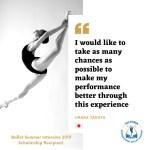 Ballet Summer Intensive Apprentice: Urara