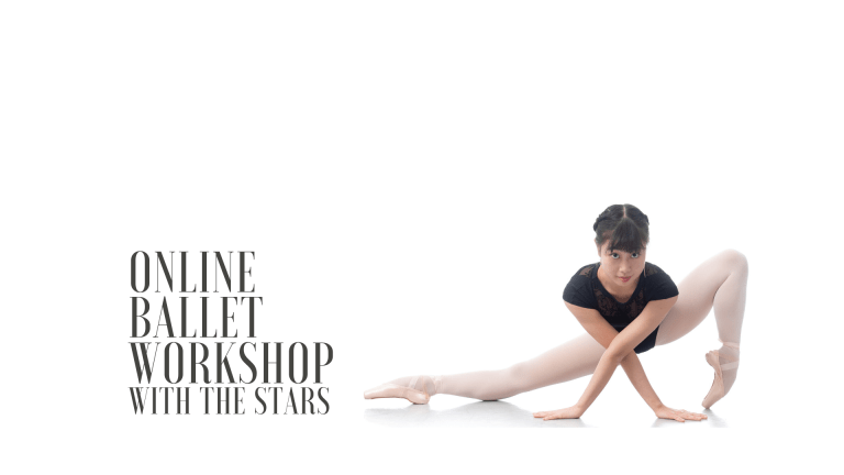 Online Ballet Workshop with the Stars