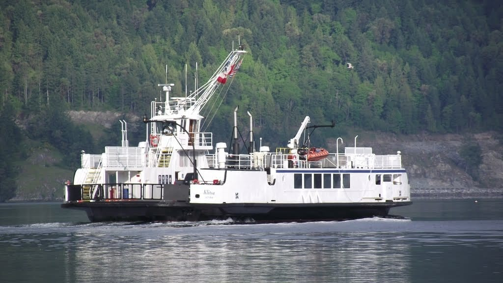 BC Ferries Mill Bay to Brentwood Bay route suspended