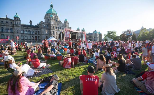 Here S What Is Happening On Canada Day In Downtown Victoria