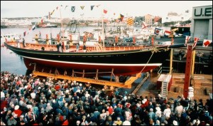 The launch of Pacific Grace
