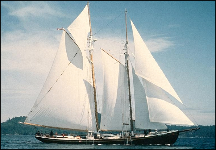 SALTS's down-east schooner and longtime sail training vessel