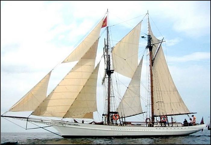 The schooner Spirit of Chemainus