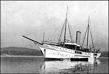 Dunsmuir's second yacht, Dolaura