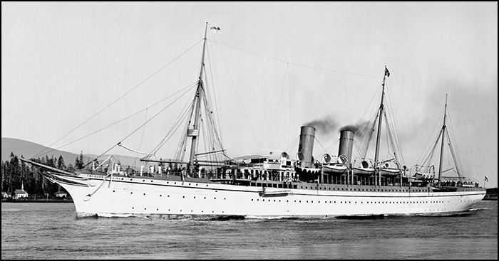 RMS Empress of China
