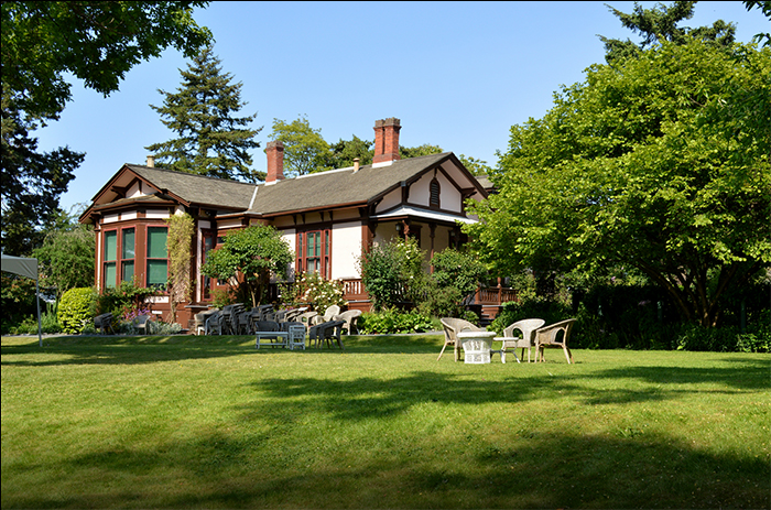 Point Ellice House, a Victorian oasis on Victoria's Upper Harbour.