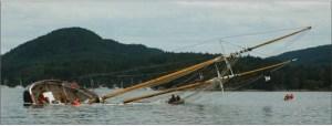 The wreck of Robertson II
