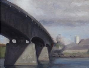 The Bay Street Bridge as painted by Noah Layne http://www.noahlayne.com/Index.html