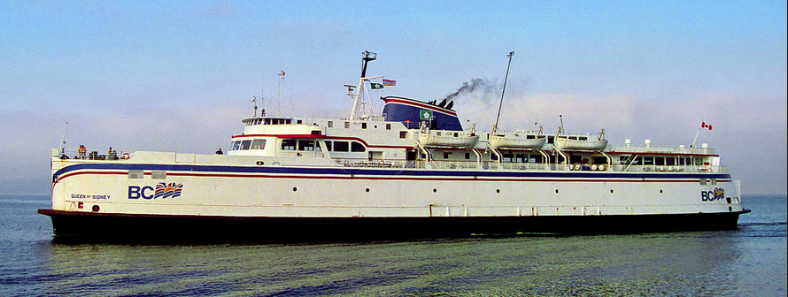 Queen of Sidney first BC Ferry vessel and first of her class. She was built to Seattle's Philip Spaulding design that can still be seen in the MV Coho, the vessel that continues to serve the Victoria/Port Angeles Route.