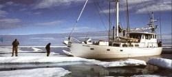 The yacht Belvedere courtesy of Northwest Passage 2014 blog