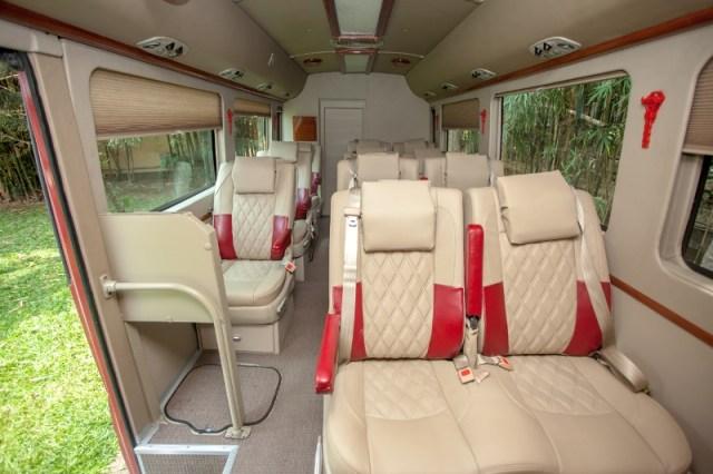 Victoria Mekong Coach - Interior