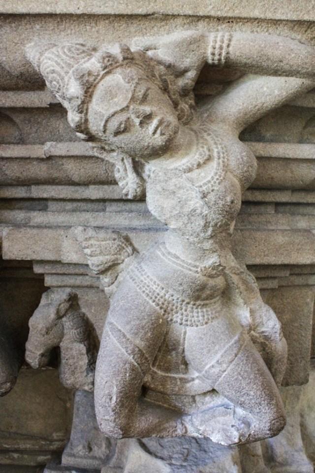 Da Nang Museum of Cham Sculpture - Dancer of Tra Kieu - James Pham -1