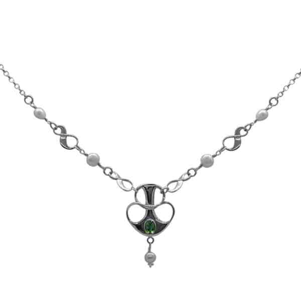 Helena Peridot Necklace