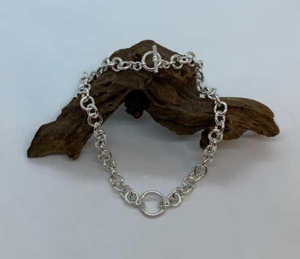 Morgan necklet on wood