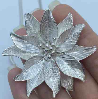 Clematis flower pendant