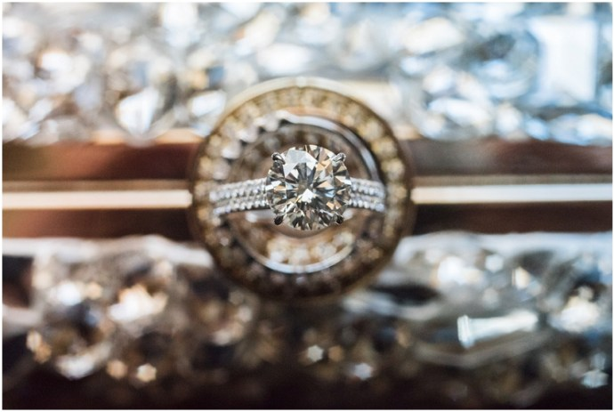 Unique ideas for ring shots during a wedding