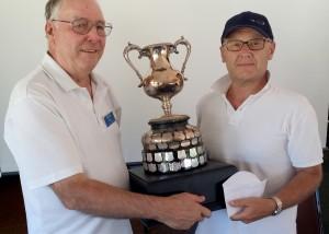 Clayton Cup Mens Pairs Winners 2016  Mick Rix  Gary Wilson