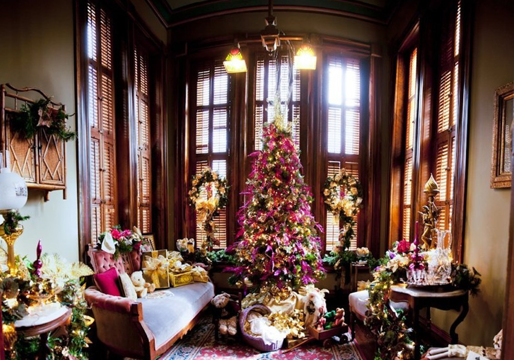 Passport to Christmas at the Vaile Mansion