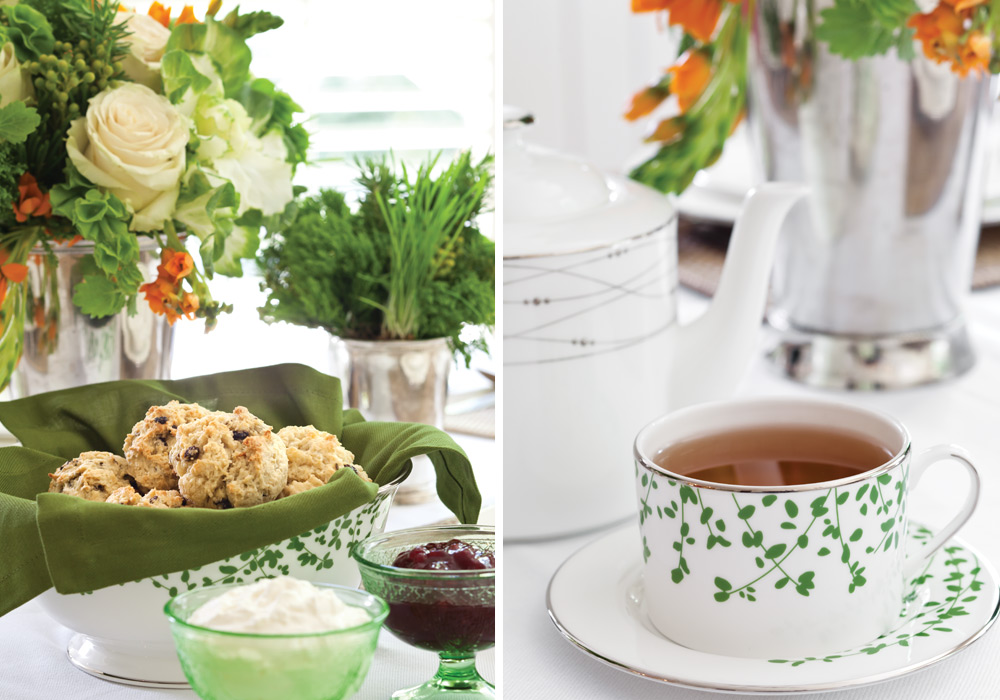 Image result for saint patrick day tea