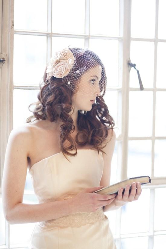 Vintage Blossom Bouquet Comb