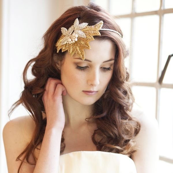 Charleston Sparkle Statement Beaded Headdress