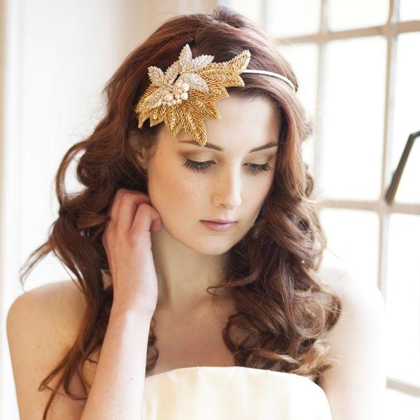 Charleston Sparkle Statement Beaded Headdress