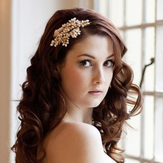 pearl wedding accessories - autumn glow