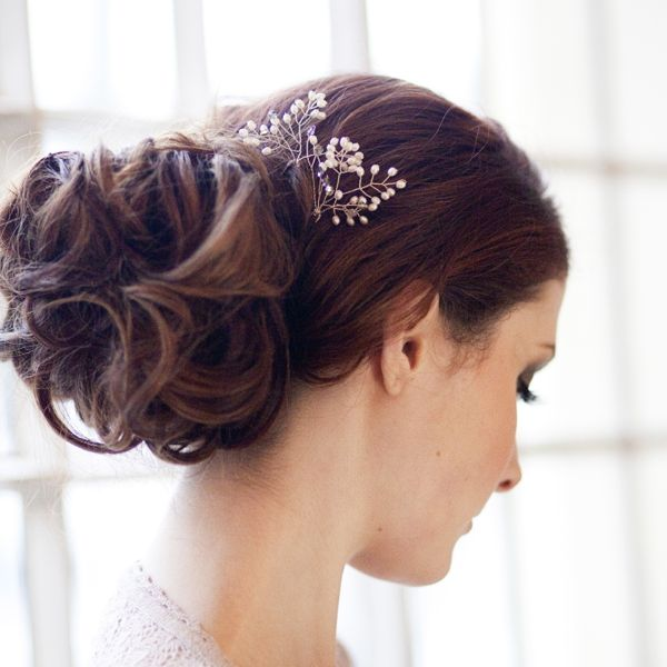 Pearl Blossom Hairpins