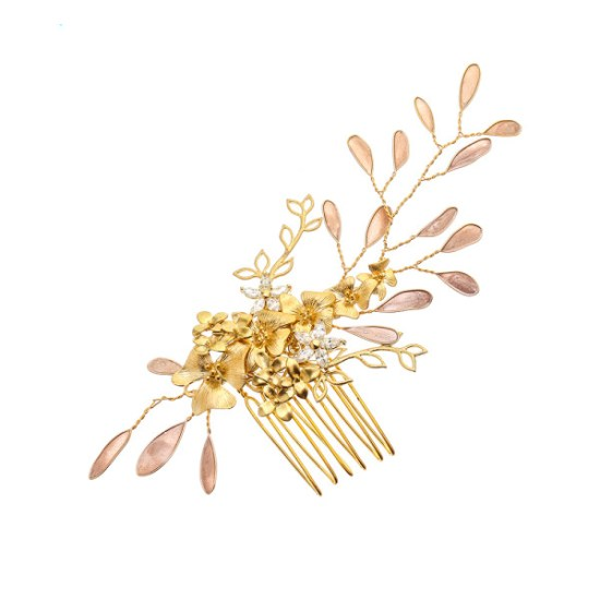 VICTORIA MILLESIME GD-C18-Golden-Shadown-Haircomb copy