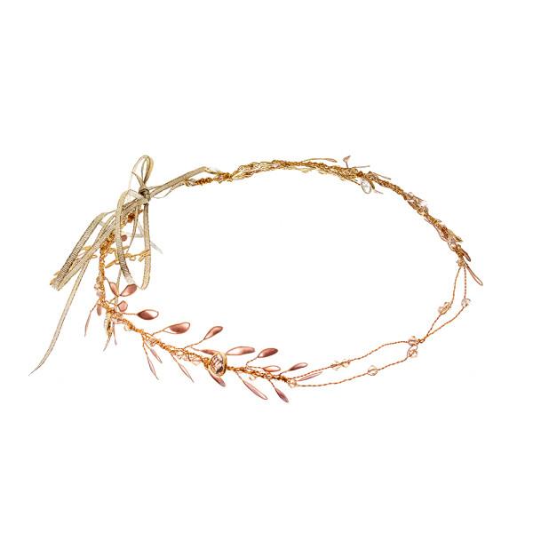 Bridal Halos, Crowns and Forehead Bands