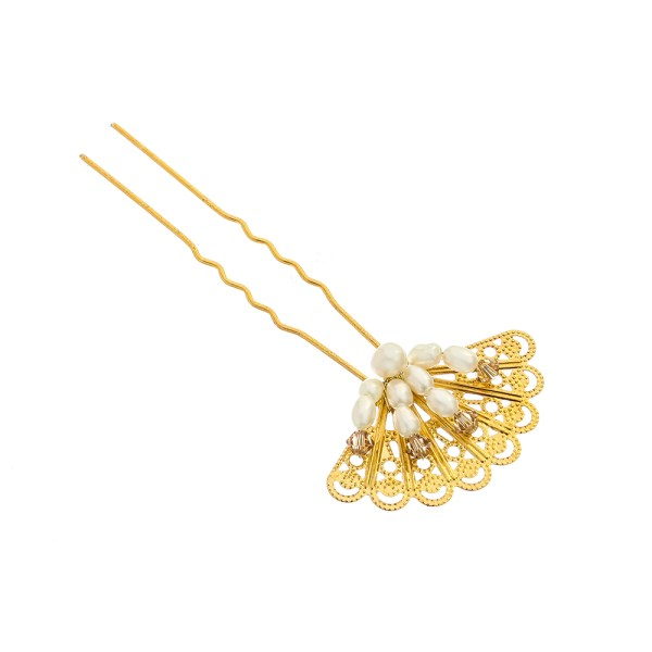VICTORIA MILLESIME GD-P12-Gilded-Age-Hairpin-2