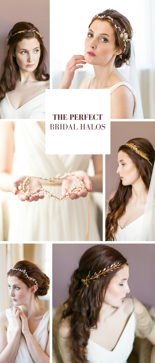 6 Beautiful Bridal Halos // www.victoriamillesime.co.uk