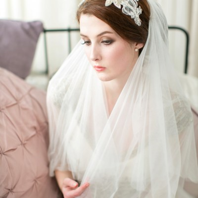 Victoria-Millesime-Blush-Pink-Lace-Bridal-Headpiece-£165-1