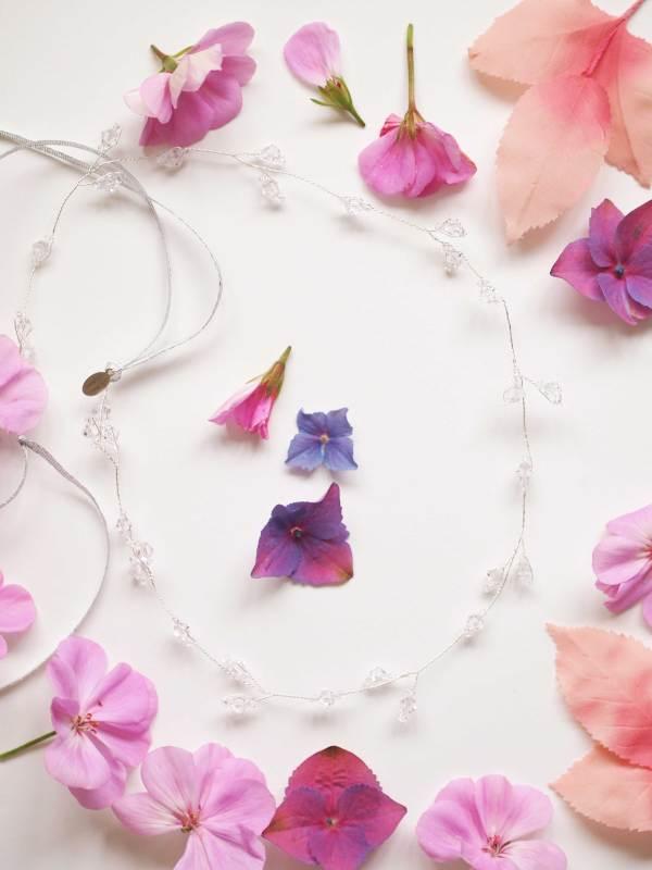 Handmade Crystal Bridal Halo