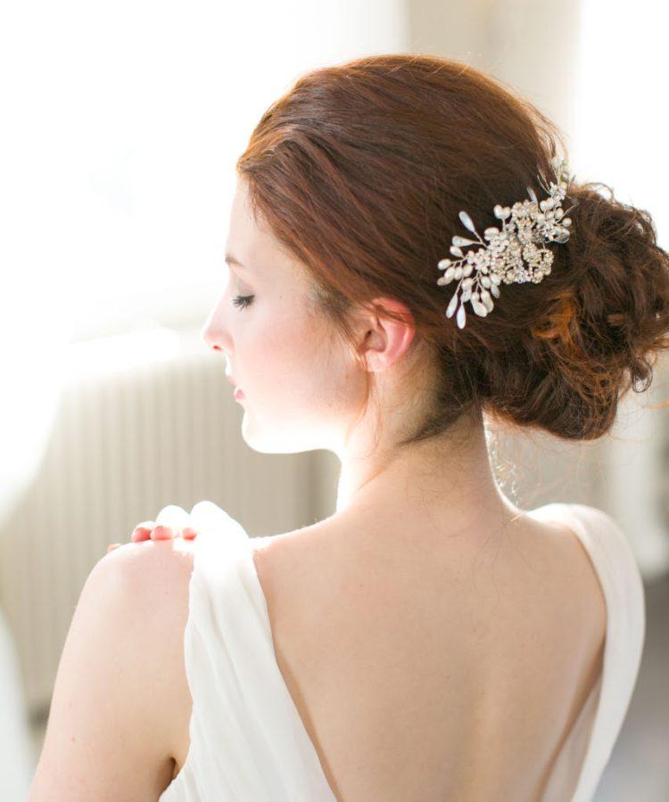 Handmade Pearl Bridal Comb