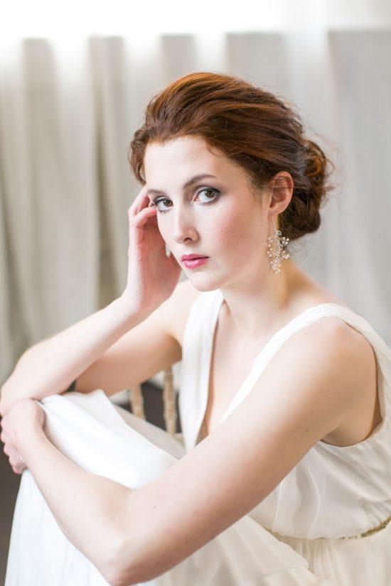 Handmade Pearl Bridal Earrings
