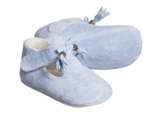 Baby Girl Summer Garden Party Blue Shoes