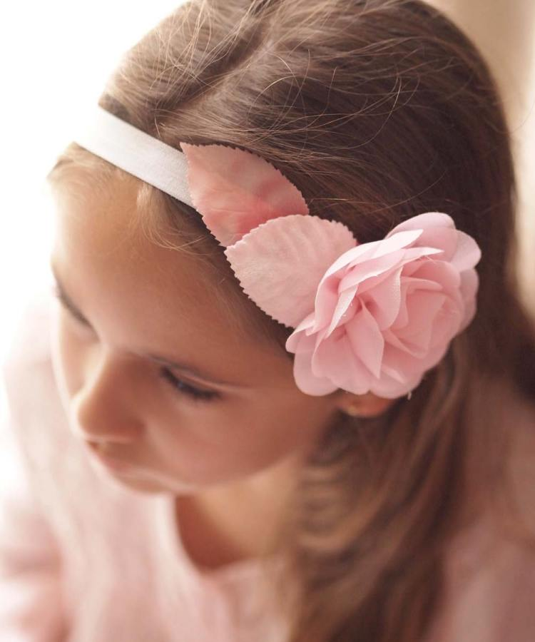 Blush Pink Baby and Girls Headband