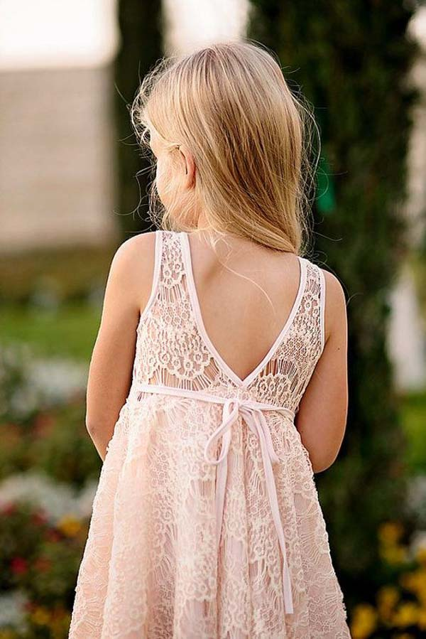 Blush Pink And Gold Flower Girl Inspiration Victoria