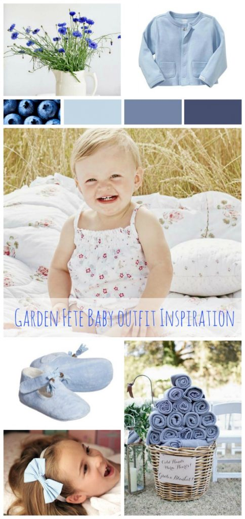 baby girl garden party outfit of the day