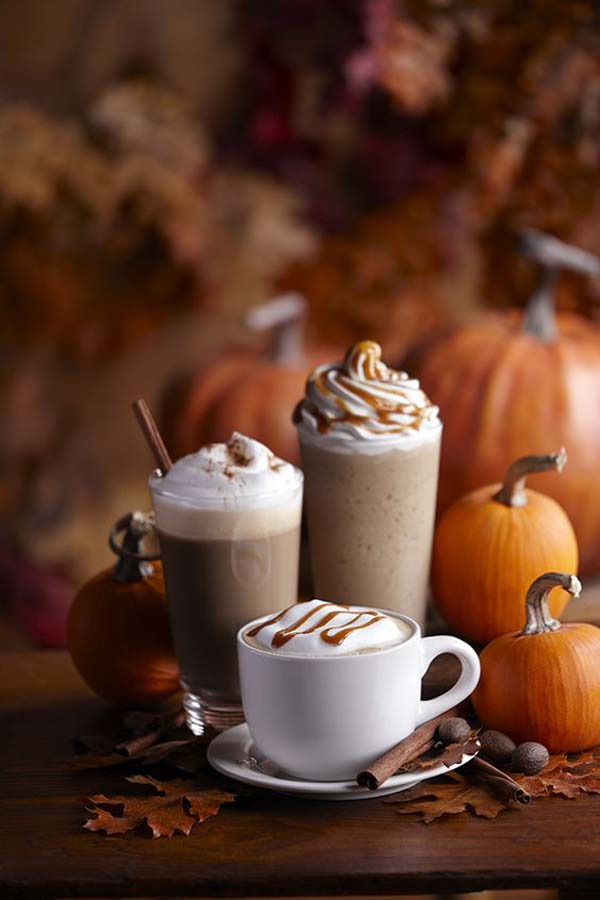 autumn coffee drinks