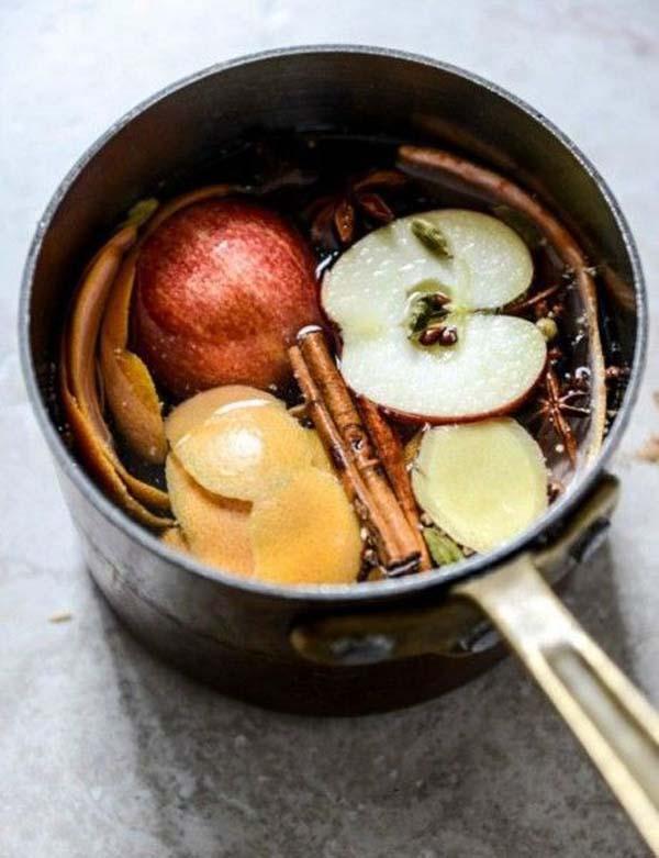 autumn stove top scent
