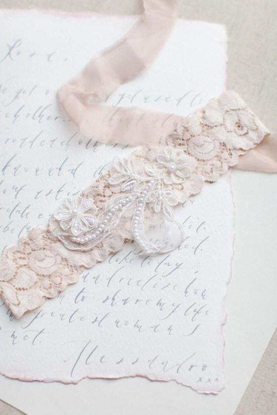 handmade wedding garter belt london
