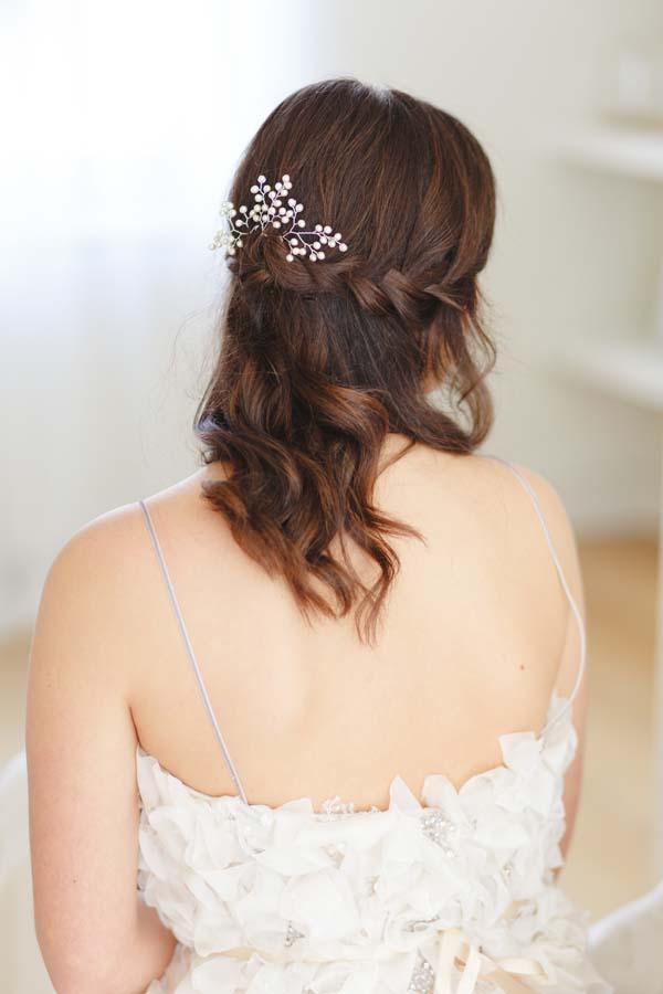 Baby's Breath Bridal Hair Pins