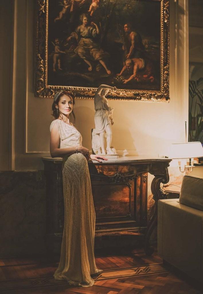 Vintage Bridal Tiara for Jenny Packham Bride