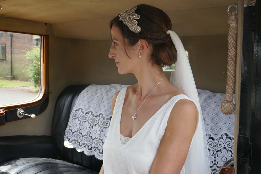 Silk Wedding Veil London