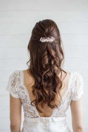 alyssum pearl wedding hair comb